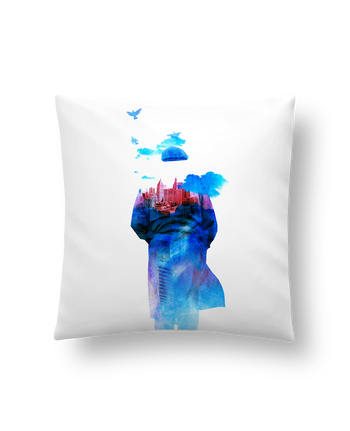 Cushion synthetic soft 45 x 45 cm Get away by robertfarkas