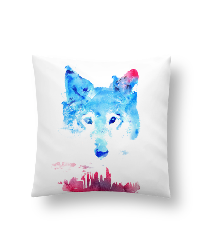 Cushion synthetic soft 45 x 45 cm The guardian by robertfarkas