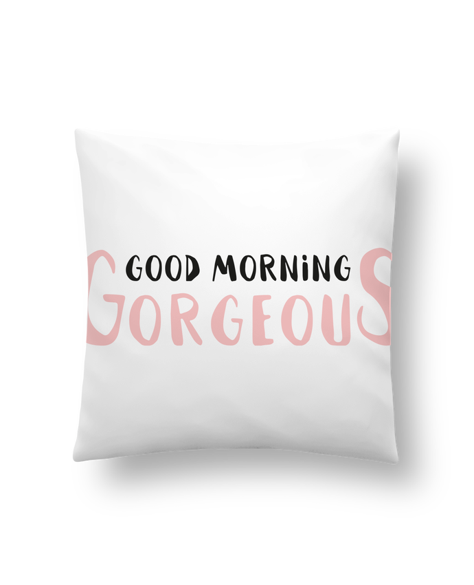 Cushion synthetic soft 45 x 45 cm Good morning gorgeous by tunetoo