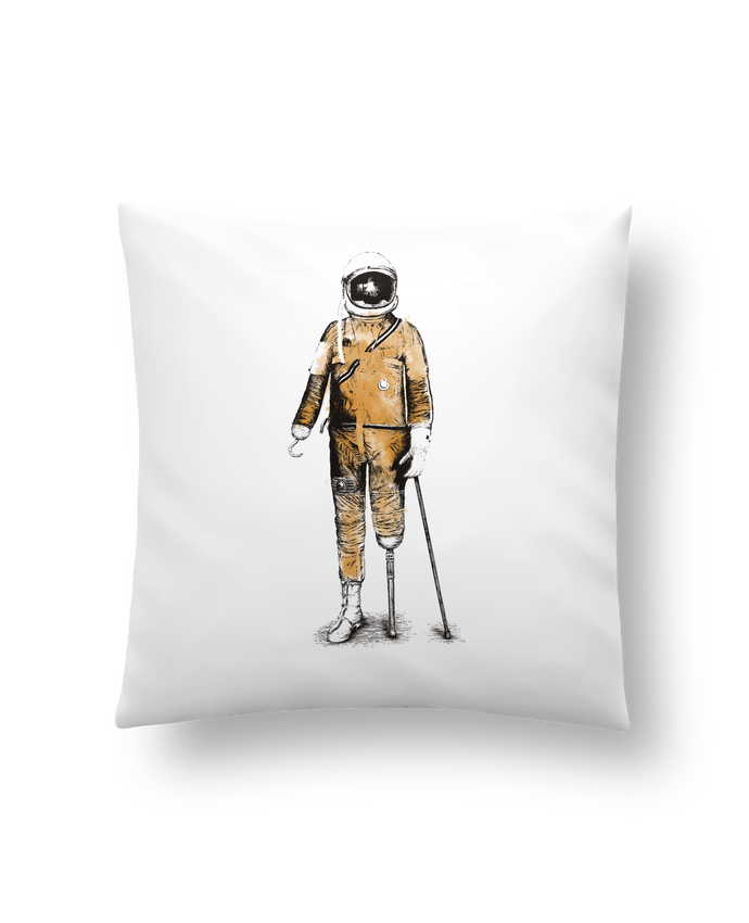Cushion synthetic soft 45 x 45 cm Astropirate by Florent Bodart