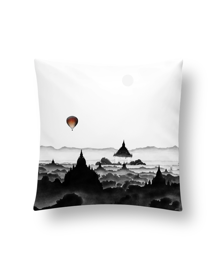 Cushion synthetic soft 45 x 45 cm Aurora by Florent Bodart