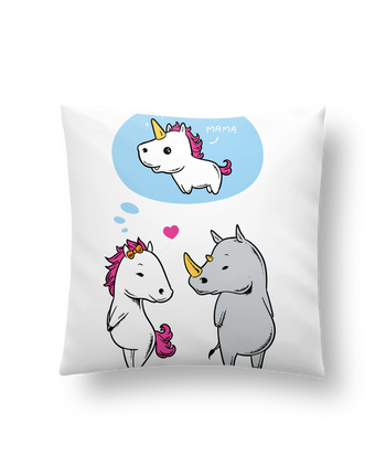 Cushion synthetic soft 45 x 45 cm Perfect match by flyingmouse365