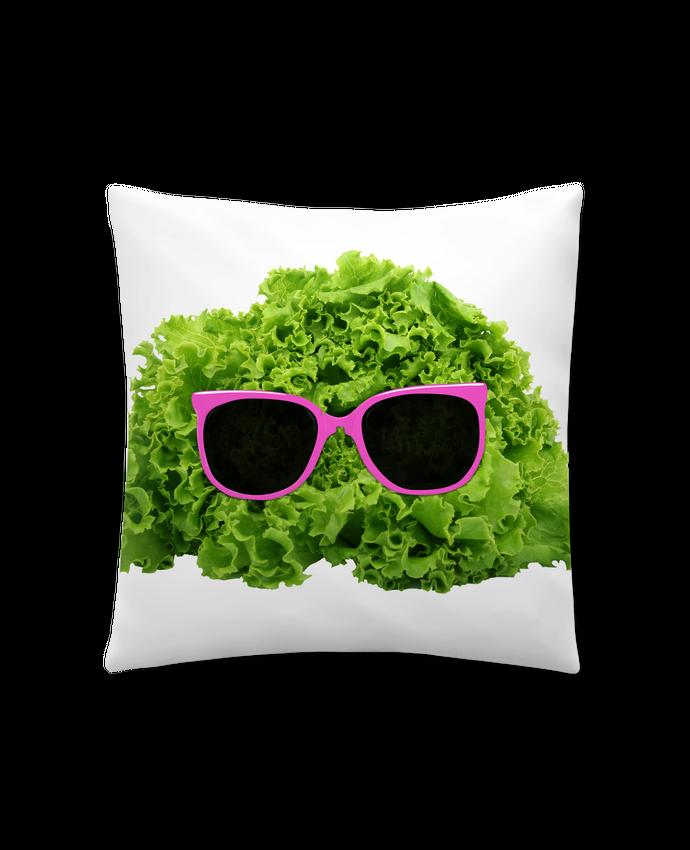 Cushion synthetic soft 45 x 45 cm Mr Salad by Florent Bodart