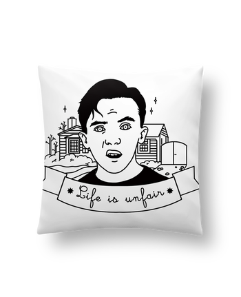 Cushion synthetic soft 45 x 45 cm Malcolm in the middle by tattooanshort