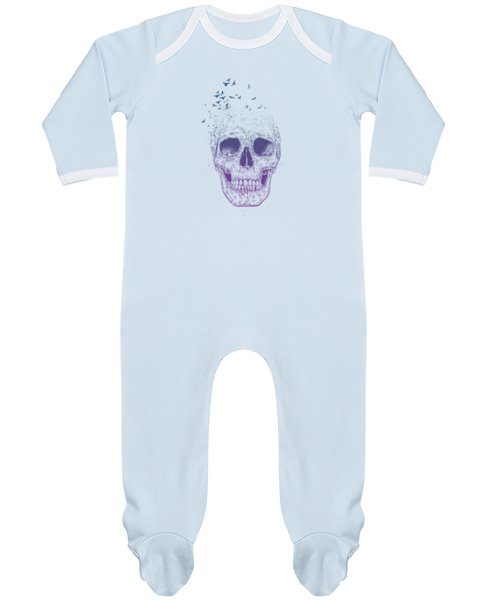 Baby Sleeper long sleeves Contrast Let Them Fly by Balàzs Solti
