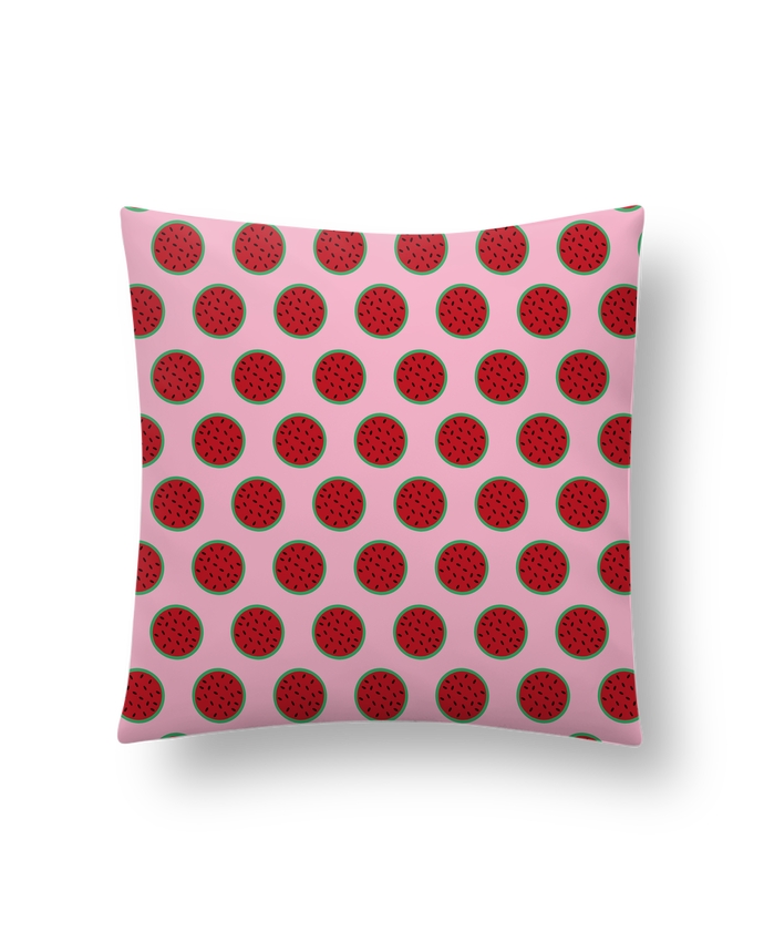 Cushion synthetic soft 45 x 45 cm Pastèque by tunetoo