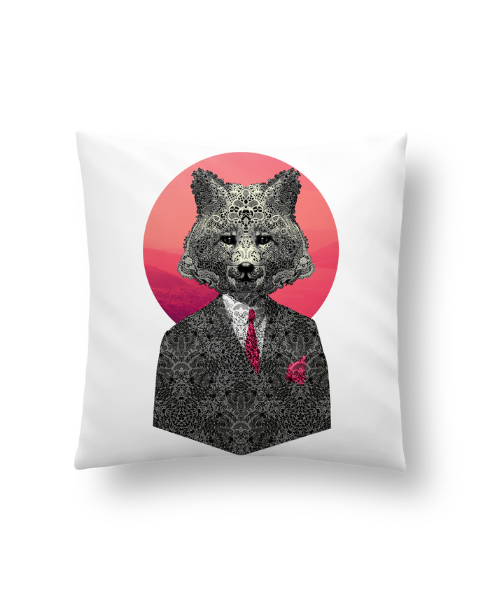 Cushion synthetic soft 45 x 45 cm Very Important Fox by ali_gulec