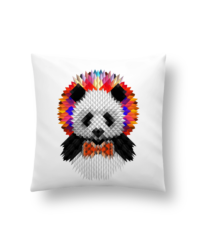 Cushion synthetic soft 45 x 45 cm Panda by ali_gulec