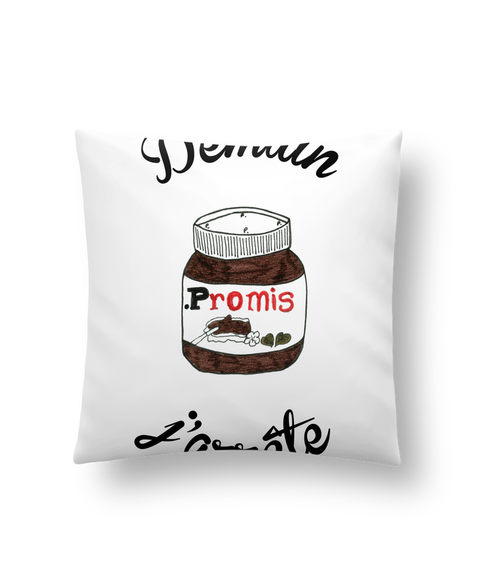 Cushion synthetic soft 45 x 45 cm Demain j