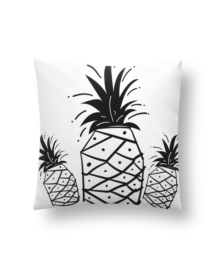 Cushion synthetic soft 45 x 45 cm CRAZY PINEAPPLE by IDÉ