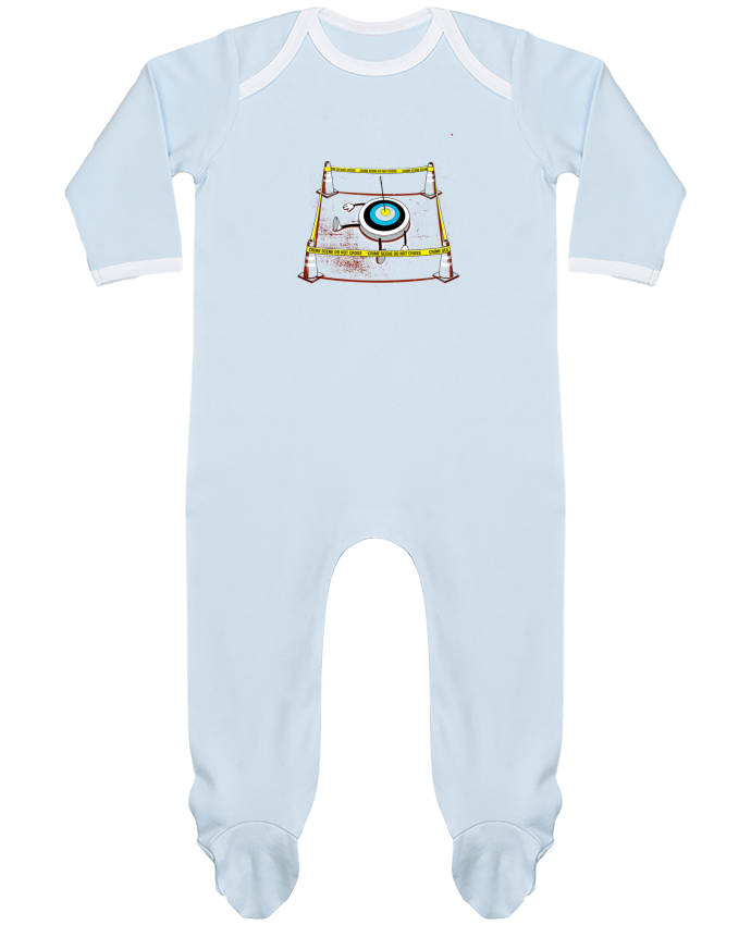 Baby Sleeper long sleeves Contrast Murdered by flyingmouse365