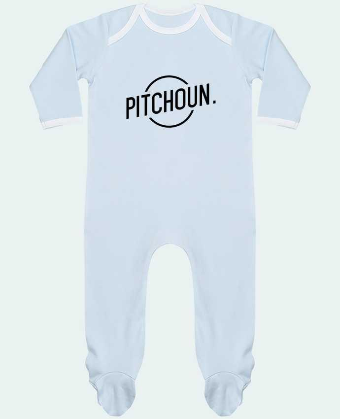 Baby Sleeper long sleeves Contrast Pitchoun by tunetoo