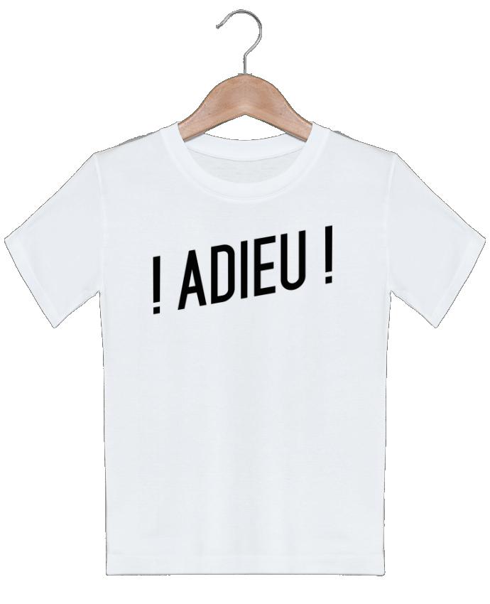 T-shirt garçon motif ! Adieu ! tunetoo