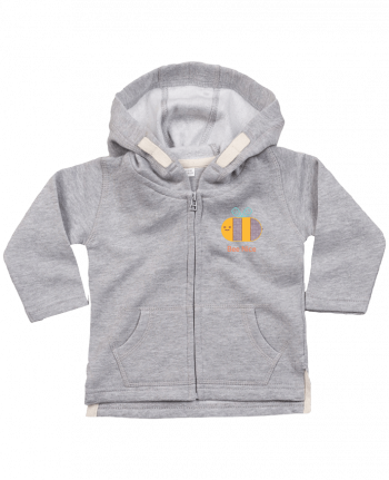 Hoddie with zip for baby BeeNice by chriswharton
