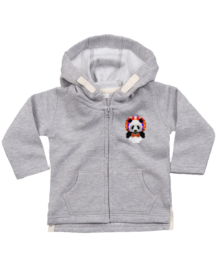 Hoddie with zip for baby Panda by ali_gulec
