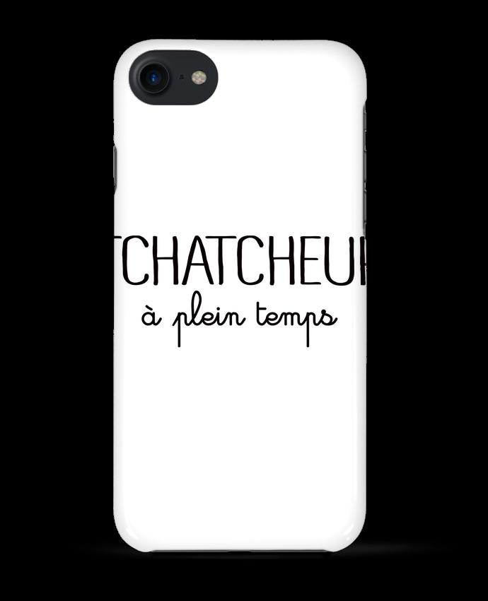 Case 3D iPhone 7 Thatcheur à plein temps de Freeyourshirt.com