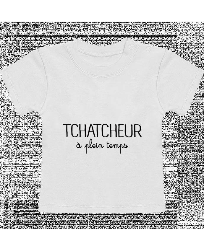 T-Shirt Baby Short Sleeve Thatcheur à plein temps manches courtes du designer Freeyourshirt.com