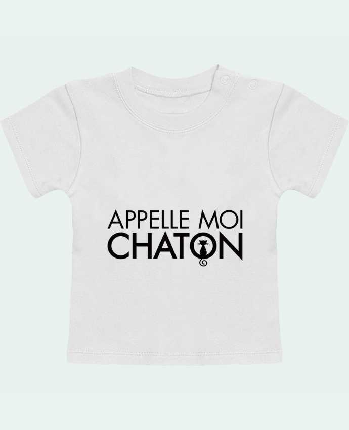 T-Shirt Baby Short Sleeve Appelle moi Chaton manches courtes du designer Freeyourshirt.com