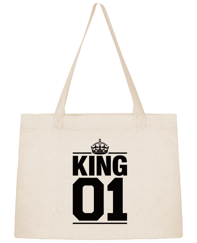 Shopping tote bag Stanley Stella King 01 by Freeyourshirt.com