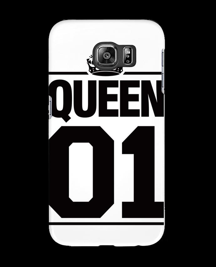 Case 3D Samsung Galaxy S6 Queen 01 - Freeyourshirt.com
