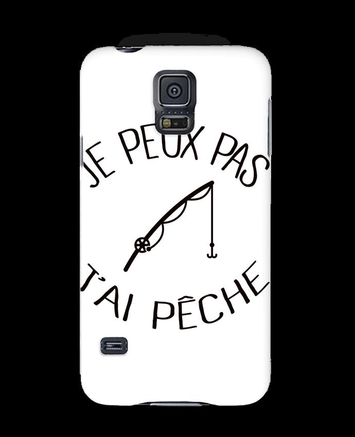 Case 3D Samsung Galaxy S5 Je peux pas j'ai pêche by Freeyourshirt.com
