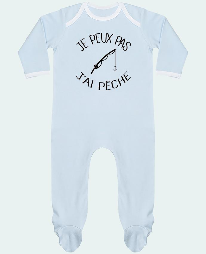 Baby Sleeper long sleeves Contrast Je peux pas j