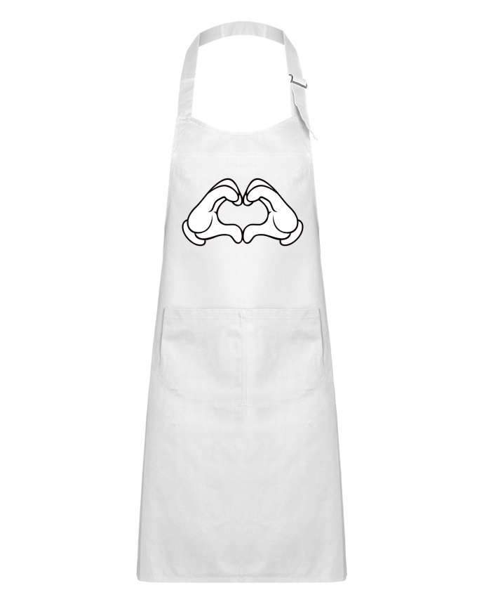 Kids chef pocket apron LOVE Signe by Freeyourshirt.com