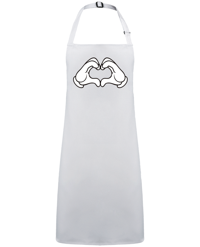 Apron no Pocket LOVE Signe by  Freeyourshirt.com