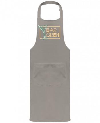 Garden or Sommelier Apron with Pocket Bar open by Freeyourshirt.com