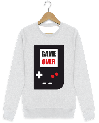 Sweat-shirt Stanley stella modèle seeks Game Over Console Game Boy by Benichan