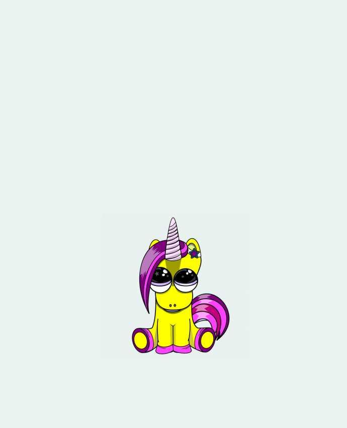 Tote Bag cotton bébé licorne by markageurbain