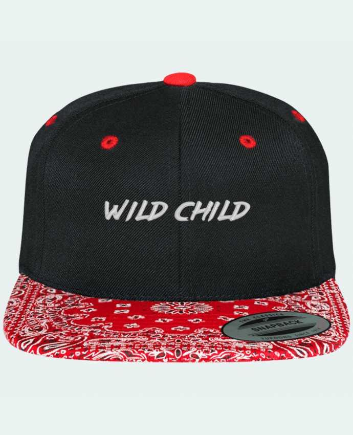 Snapback Cap pattern Wild Child by tunetoo