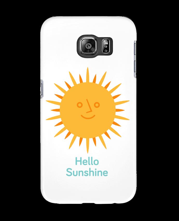 Case 3D Samsung Galaxy S6 HelloSunshine - chriswharton