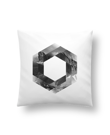 Cushion synthetic soft 45 x 45 cm Hex by chriswharton