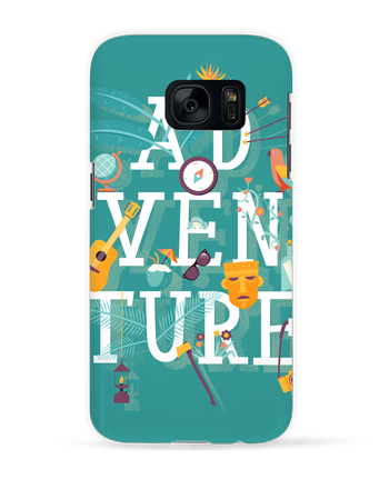 Case 3D Samsung Galaxy S7 My Type of Adventure by chriswharton