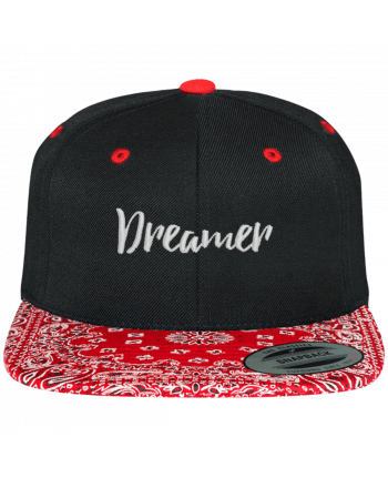 Snapback Cap pattern Dreamer by tunetoo
