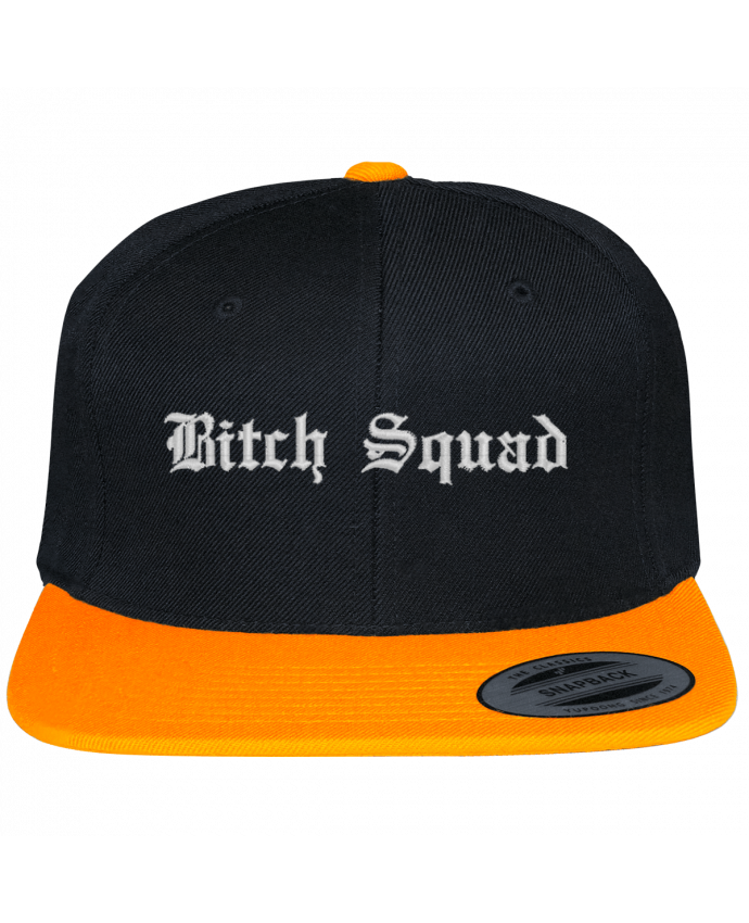 Snapback cap two-one varsity bicolore Bitch Squad by tunetoo
