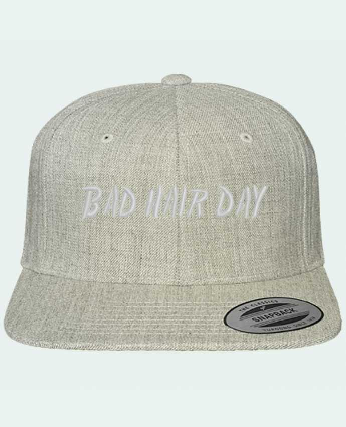Snapback cap classique Bad hair day by tunetoo