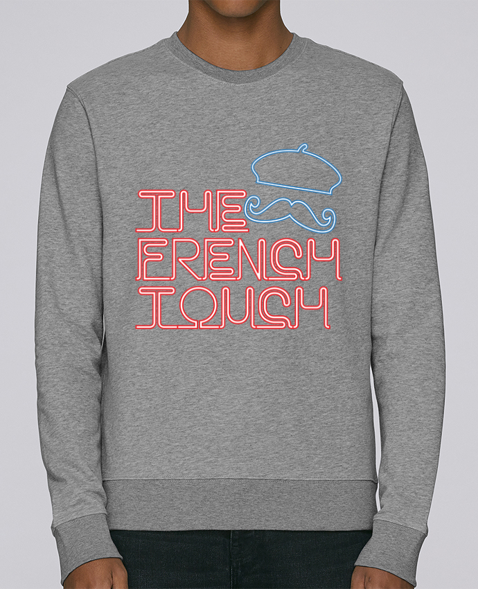 Sweatshirt crew neck Stella Seeks The French Touch by Freeyourshirt.com