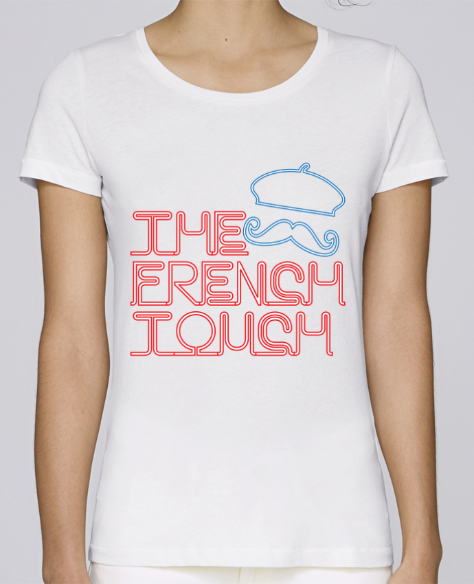 T-shirt Women Stella Loves The French Touch by Freeyourshirt.com