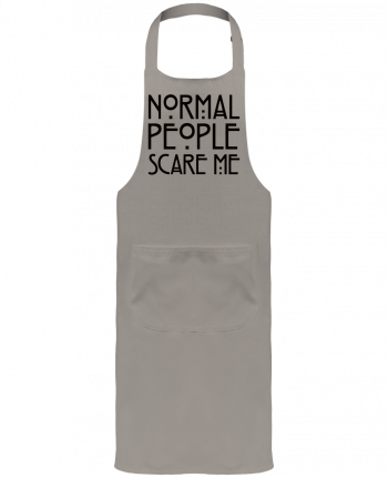 Garden or Sommelier Apron with Pocket Normal People Scare Me by Freeyourshirt.com