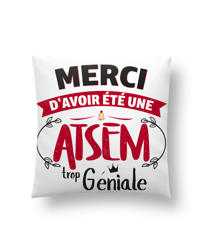 Cushion synthetic soft 45 x 45 cm Merci d