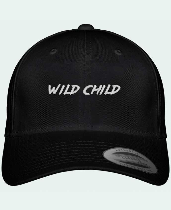 Casquette Flexfit 6 panneau Wild Child by tunetoo