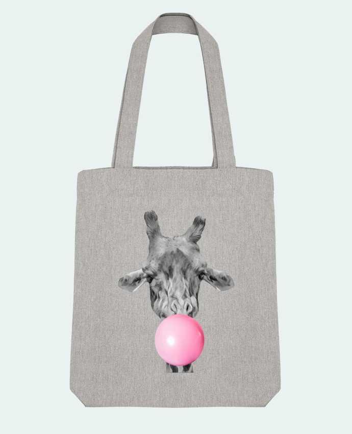 Tote Bag Stanley Stella Girafe bulle by justsayin