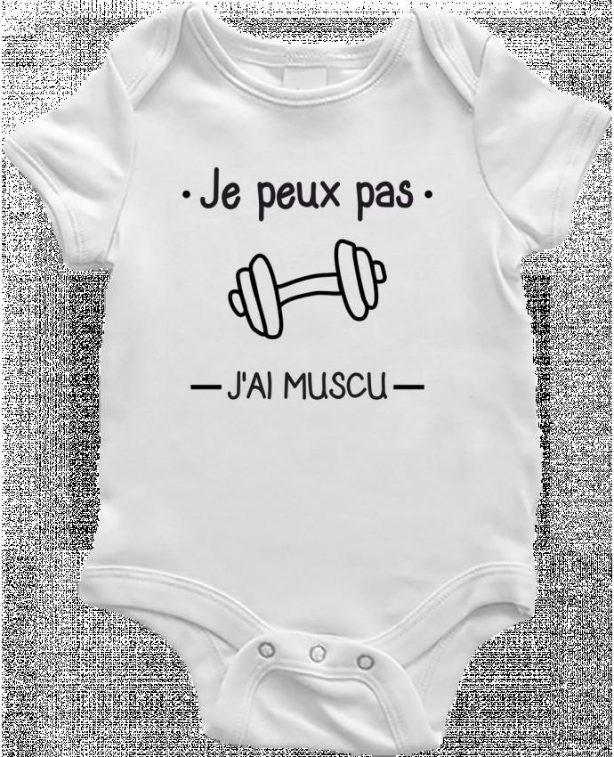 Baby Body Je peux pas j'ai muscu, musculation by Benichan