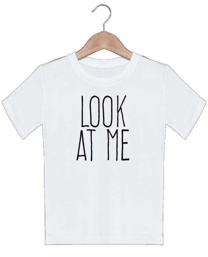 T-shirt garçon motif Look at me justsayin
