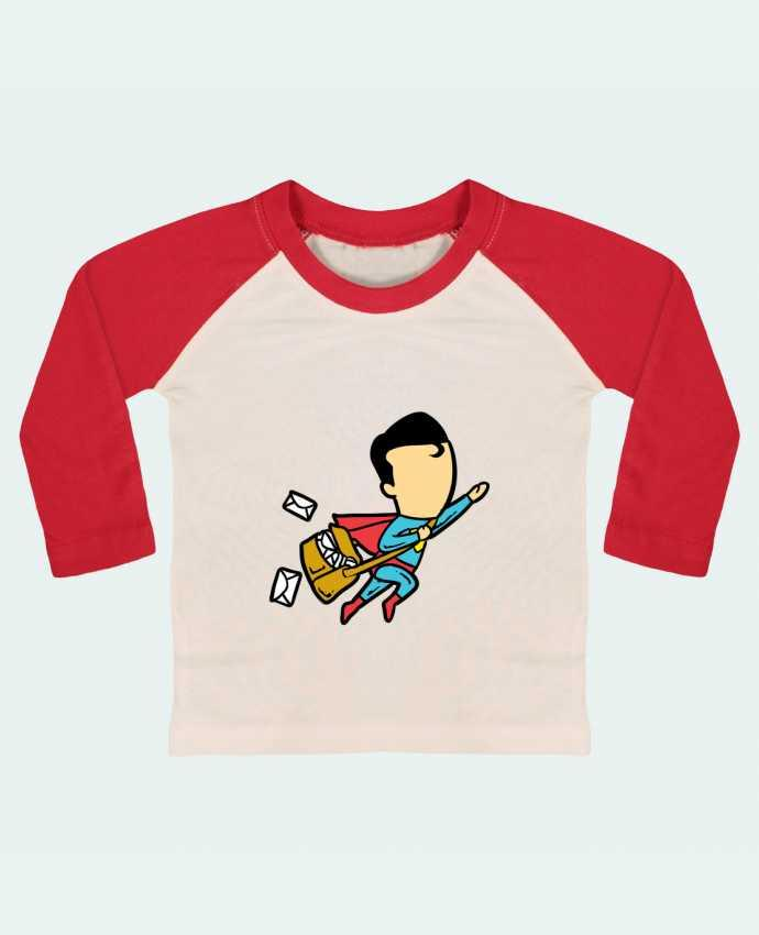 T-shirt baby Baseball long sleeve Post by flyingmouse365