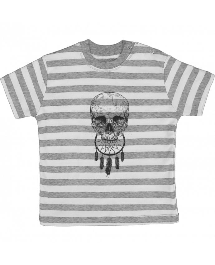 T-shirt baby with stripes Dream Forever by Balàzs Solti