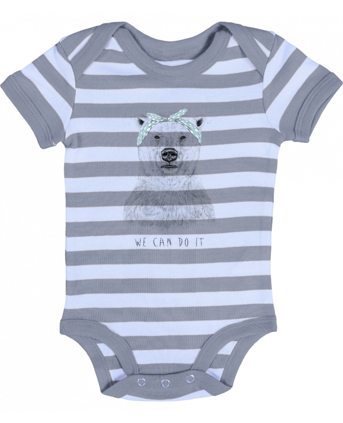 Baby Body striped we_can_do_it - Balàzs Solti