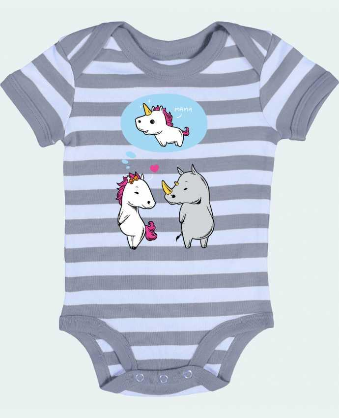 Baby Body striped Perfect match - flyingmouse365